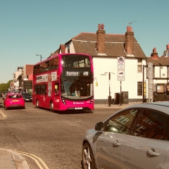 Essex Club - 13 Red Bus and Brentwood High Street