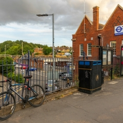 Essex Club - 17 Railway Station and Bicycle