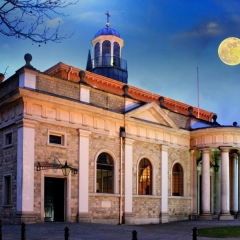 Essex Club - 23 Supermoon over Brentwood Cathedral