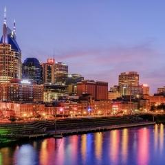 Nashville Skyline (Abuts Brentwood's Northern boundary)