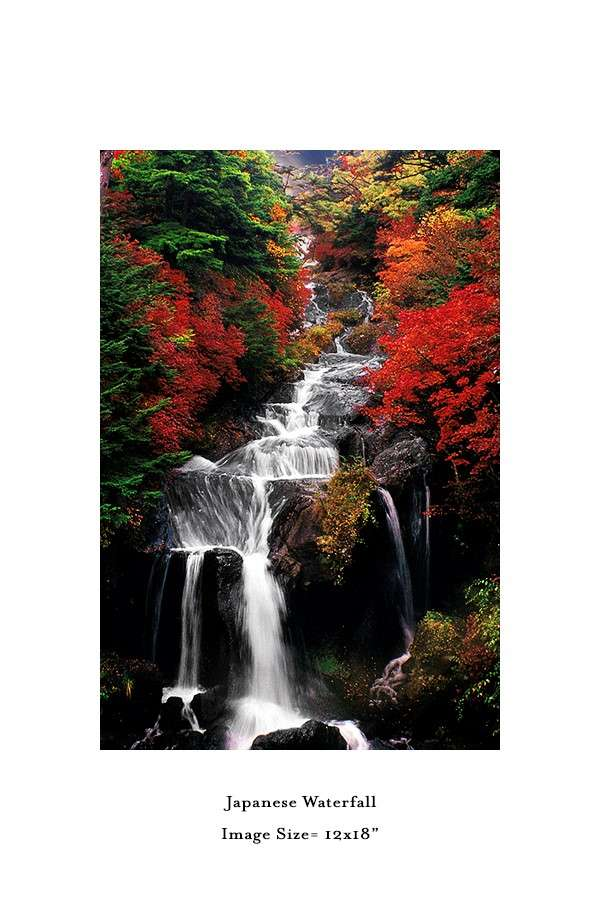 Japenese-Waterfall