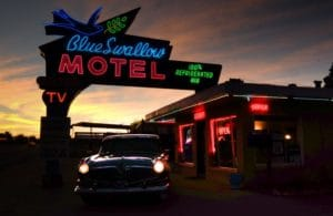 Blue Swallow Route 66