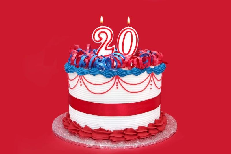 Twentieth-Anniversary